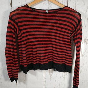 Margaret O'Leary Striped Long Sleeve Top